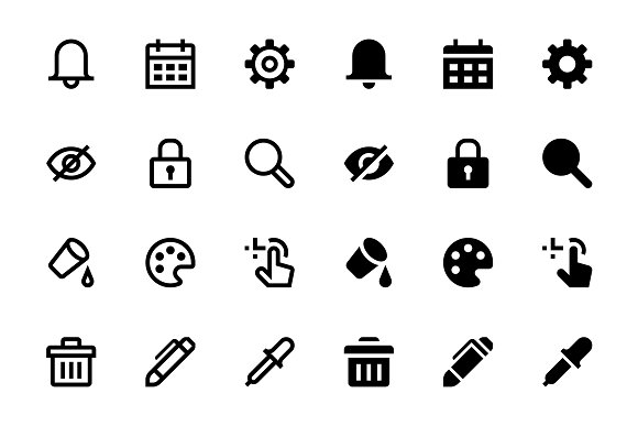 124 Interface Icons