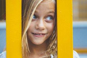 Girl blond