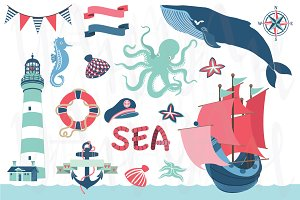 Nautical Sea Clip Art