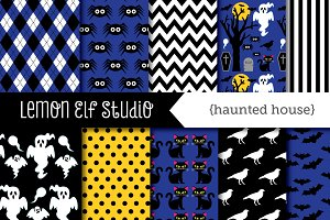 Haunted House Paper (LES.DP46)