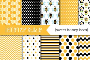 Sweet Honey Bees Paper (LES.DP54)