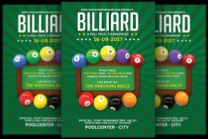 Billiard Flyer