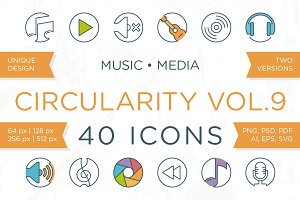 Circularity Icons Volume 9