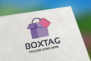 Box Tag Logo