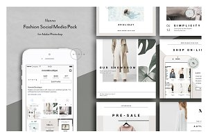 Fashion Social Media Pack • Nanna