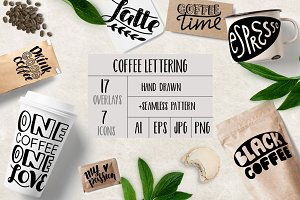 Coffee Overlays & Icons