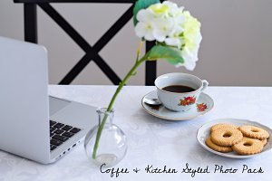 Coffee & Kitchen Styled Photo Pack