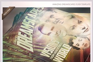 Amazing Dreamscapes Flyer