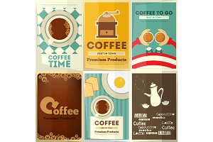 Coffee Posters Set