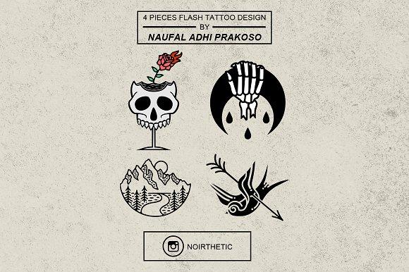 Flash Tattoo Design #2