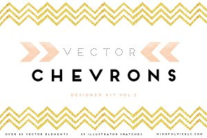 72 Vector Chevrons