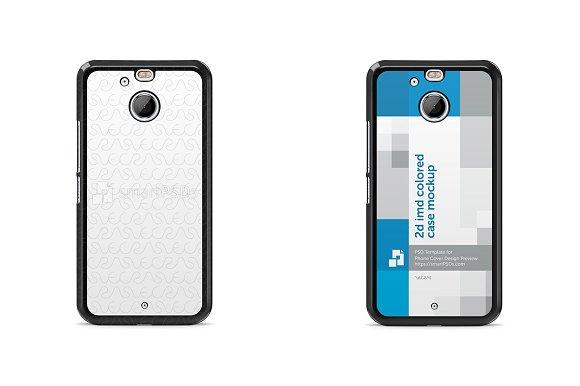 HTC Bolt 2d IMD Colored Case