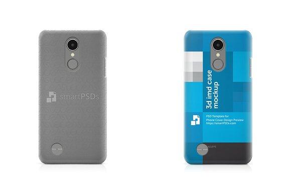 LG K8 2017 3D IMD Mobile Case