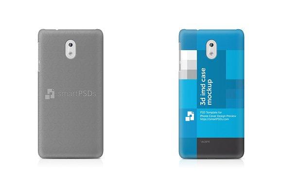 Nokia 3 3D IMD Mobile Case