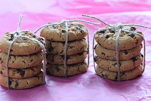 Homemade cookies.