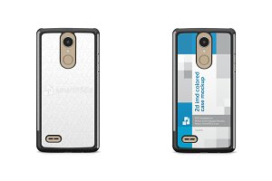 LG K8 2017 2d IMD Colored Case