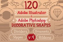 120 Handwritten Decorative Shapes 04