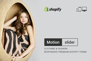MotionSlider - Fashion Shopify Theme