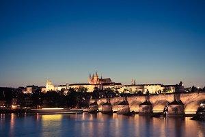 Prague panoramic view