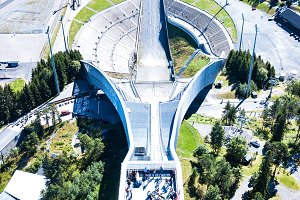 Aerial View of Sky jump