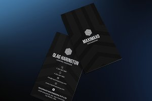 Black and White Business Card #56
