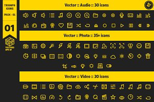 Triumph Icons Pack 01