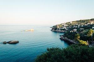 Ulcinj seascape view, Montenegro