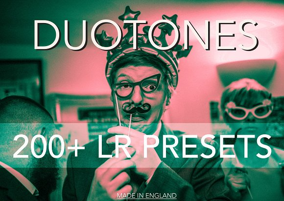Duotone 200 Lightroom Presets