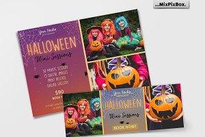 Halloween Mini Session Template