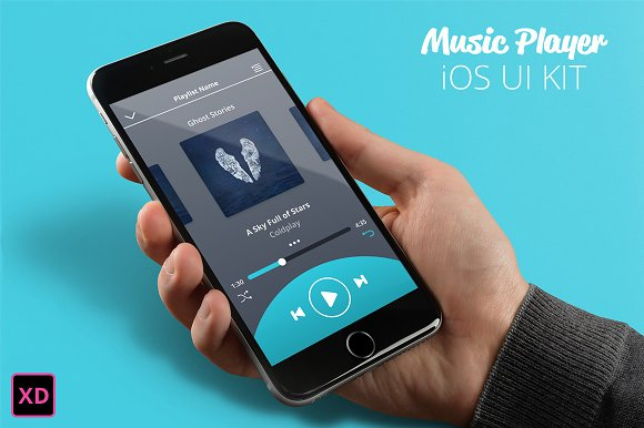 Music Player IOS UI KIT