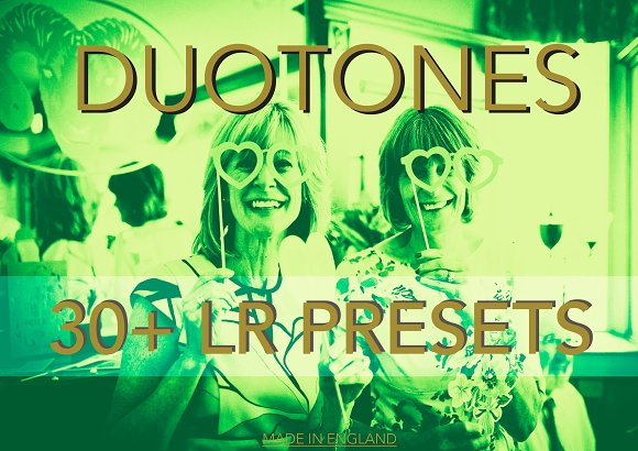 Duotone 30 Lightroom Presets