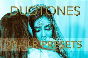 Duotone 20 + Lightroom Presets