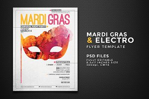 Mardi Gras & Other Events Flyer