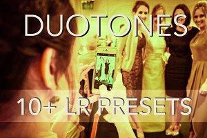 Duotone 10 + Lightroom Presets