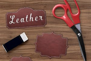 Leather Borders Clipart