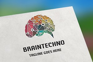 Brain Techno Logo