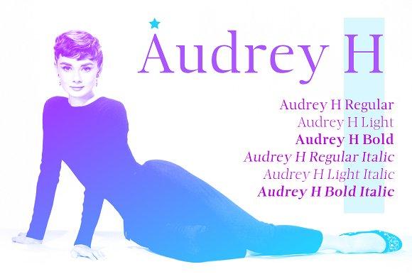 Audrey H Fonts