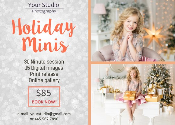 Holiday Mini Session Template V.3