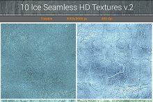 Ice Seamless HD Textures v.2