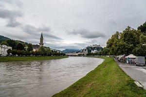 Cityscape of Salzburg