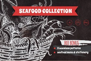 Fish and seafood collection