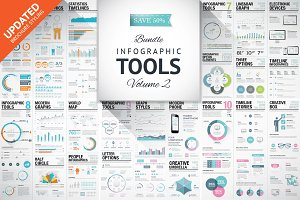 45%OFF Infographic Elements Bundle 2