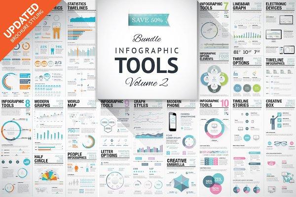 45%OFF Infographic Elements Bundle…