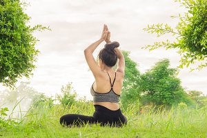 The Yoga practice in the nature