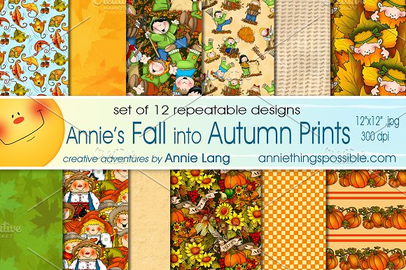Annie's Fall Into Autumn Prints
