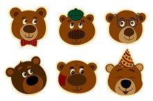 Promotional Stickers teddy bear.