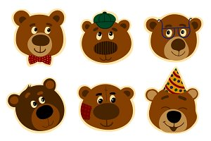 Promotional Stickers teddy bear.