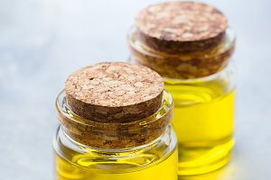 Organic essential oil with for beauty and spa treatment