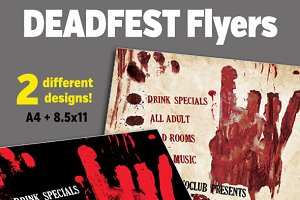 DEADFEST Flyers