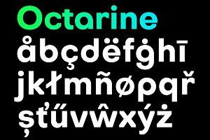 Octarine (16 fonts)